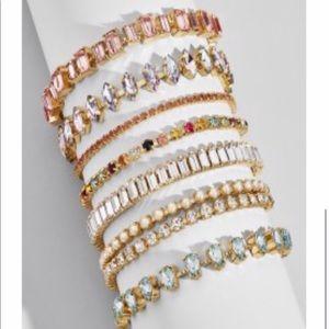 Bauble bar set of bracelets